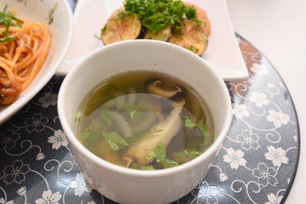 椎茸のスープ