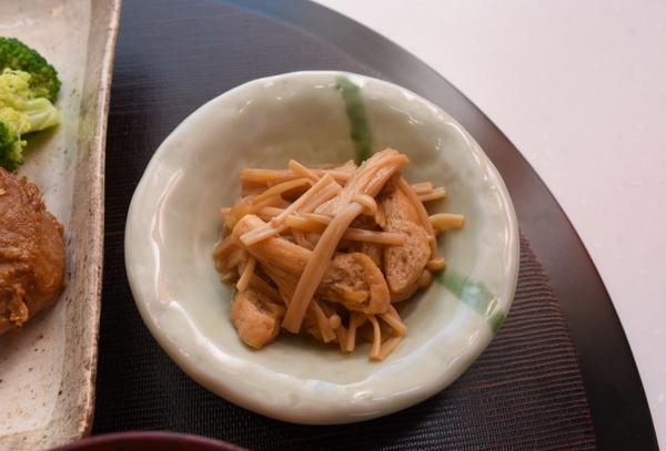 エノキの煮物