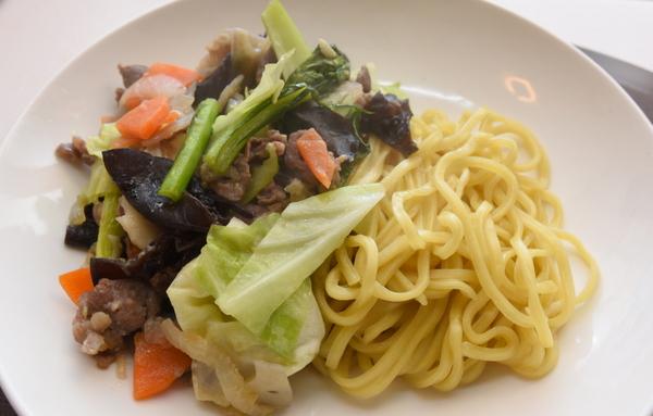 味噌味野菜炒め