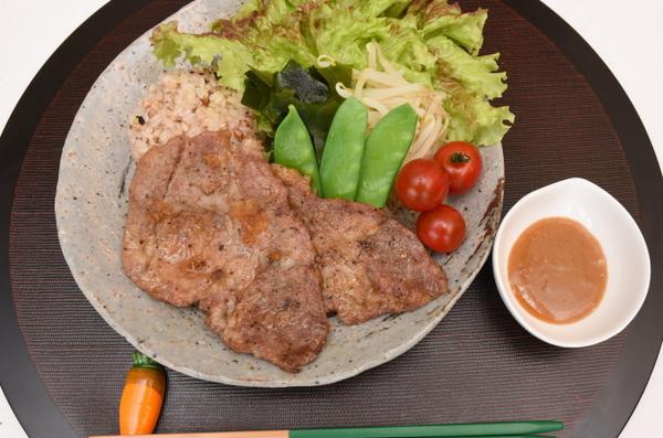 イベリコ豚の生姜焼き