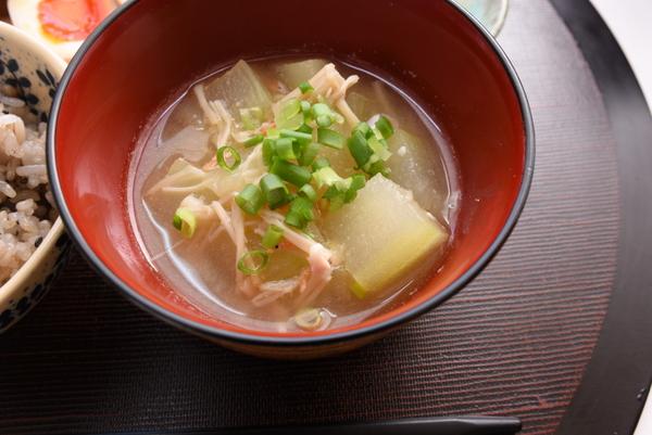 とうがんスープ